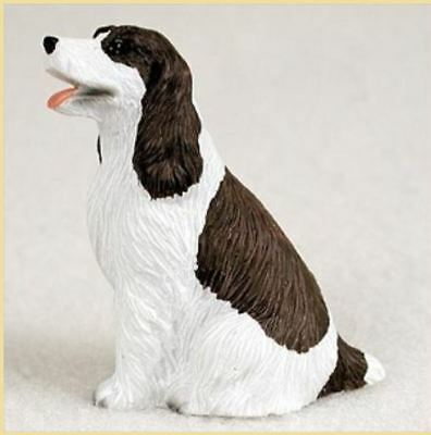 SPRINGER SPANIEL (LIVER WHITE) TINY ONES DOG Figurine Statue Pet Lovers Resin