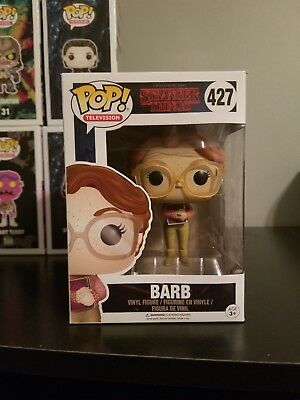 Funko Pop! TV Netflix Stranger Things Barb #427 WITH POP PROTECTOR!