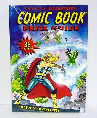 OVERSTREET COMIC BOOK PRICE GUIDE #36 Hardcover Book 36th Edition THOR 2006