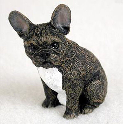 FRENCHIE FRENCH BULLDOG TINY ONES DOG Figurine Statue Pet Lovers Gift Resin