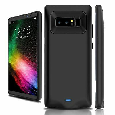 8000mAh Power Bank Pack External Battery Charging Case for Samsung Galaxy Note 8