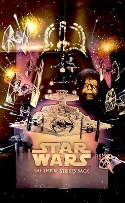 Star Wars™ THE EMPIRE STRIKES BACK Movie Poster DREW STRUZAN Cereal Exclusive