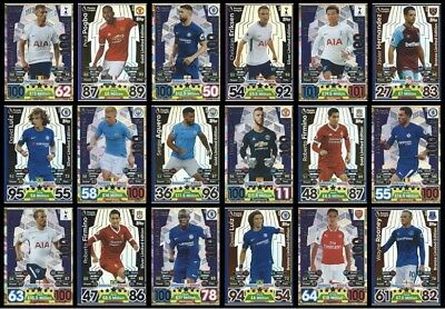 2017 2018 English Premier League EPL Match Attax 100 CLUB CARDS - YOU PICK