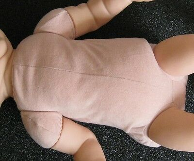 "Reborn Doll Bodies for 15-16"" kits DOE SUEDE 3/4 arms  front loading legs"