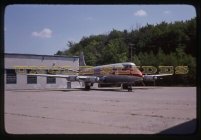 Original Plane Slide Kodachrome TCA Trans Canada Airlines Propeller Airplane