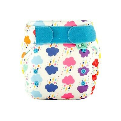 Tots Bots Easyfit Star One Size Cloth Diaper 8-35lbs All-In-One (Rumble) ... New