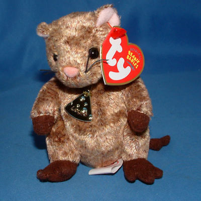 e4f709564e5 Ty Beanie Baby Louis Garfield - MWMT (Mouse Garfield Movie)