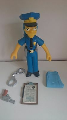 Simpsons Playmates Officer Marge 2001 World of Springfield SERIES 7 Figur Lou