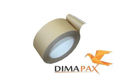 12 Paper Adhesive Tape 50 mm x 50 m Packing Tape Brown (Pro 1 M)