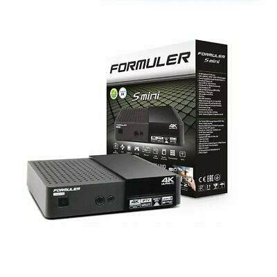 Formuler S Mini 4K Ultra HD Sat- IPTV Receiver Next-Generation 4K UHD Satellite