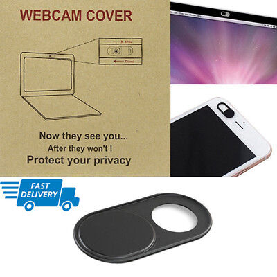 Black Camera WebCam Cover Protect Privacy For Laptop Tablet iPad Phone Dasktop