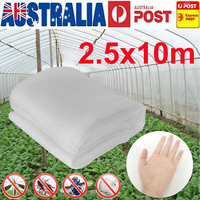 Garden Mosquito Netting Hunting Barrier Protect Planter Insect Bird Net 2.5x10m