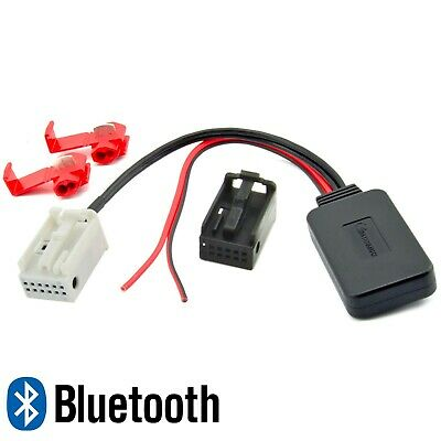 BLUETOOTH AUX ADAPTER für BMW E60 E61 E81 E87 E90 E91 Radio Musik MP3 Spotify
