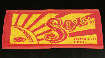 Sol Beer Vintage Bar Towel New Old Stock