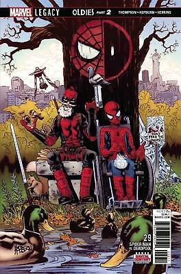Marvel Legacy - Spider-Man Vs.deadpool #29 - First Print