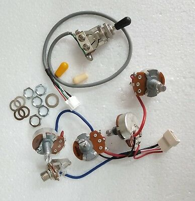 real epiphone pro wiring harness push/pull alpha pots ... wiring diagram for es 335