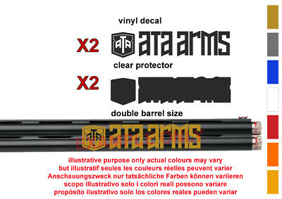 ATA Arms Vinyl Decal Sticker For Rifle /shotgun / Case / Gun Safe / Car /
