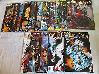 US Lady Death  Witchblade Vampirella Dragon Wars Annual death bocoms her