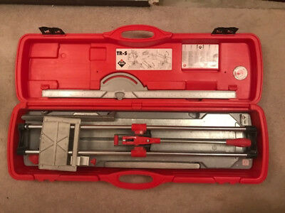 Rubi TR-700-s manual tile cutter in case, only gently used