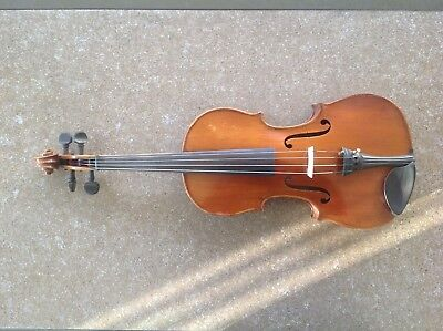 Antique and Vintage Old Violin Full Size With Case and two Bows