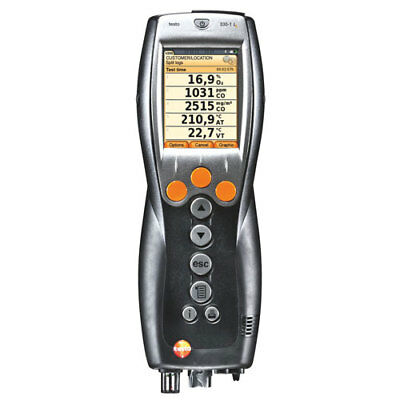 Testo 330-1G LL Kit #4 (400563 3304) Combustion Analyzer Kit with Printer & NOX
