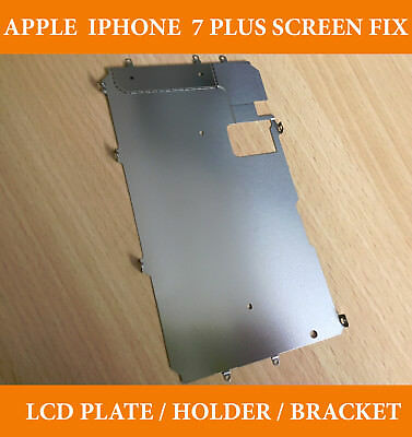 Original Qlty Iphone 6 Screen Lcd Fix Metal Back Rear Plate Holder