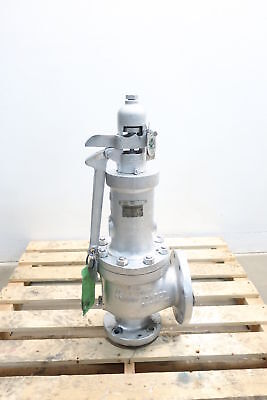 New Dresser 1905Lt 3X4 In Iron Flanged Relief Valve 13870Lbs/hr 75Psi D603143