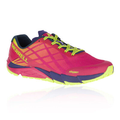 Merrell Womens Bare Access Flex Trail Running Shoes Trainers Sneakers Pink