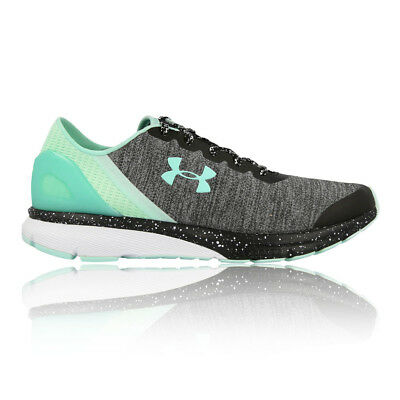 Under Armour Womens Charged Escape Running Shoes Trainers Sneakers Green Grey