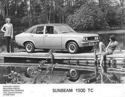 1973 Sunbeam 1500 TC ORIGINAL Factory Photo oua2662