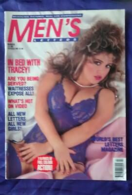 Rare Vintage Mens Glamour Magazine, 1992, five girls plus real life confessions