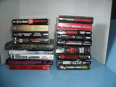 Lot Of 18 True Crime*sex Sadists*in His Garden*then No One Can Have Her