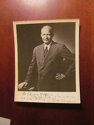 Dwight David Eisenhower, signed photo