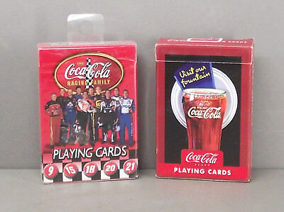 Playing Cards -  Coca-Cola playing cards - 2 decks (1 New & 1 Used)