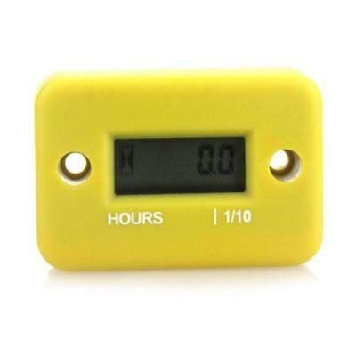 Digital Hour Meter Gauge LCD For Gasoline Engine Lawn Mower Timer BI #A1