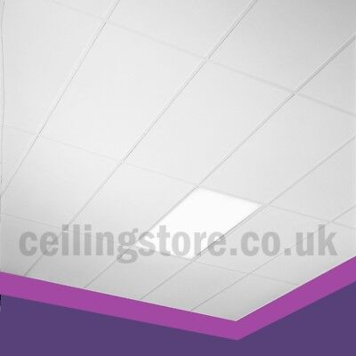 Suspended Vinyl Ceiling Tiles EasyClean & Wipeable 1200x600 Laminated 1195x595