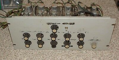 5 Dukane 1A450A Tube Preamp All In Rack Unit W/ 12Ax7 Tube And 3A55 Transformer