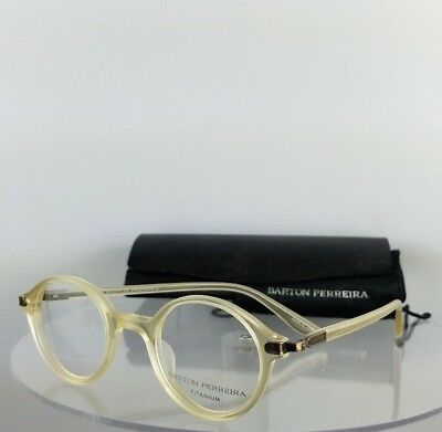 Brand New Authentic Barton Perreira Eyeglasses FREY MCP/ANG 44mm Frame