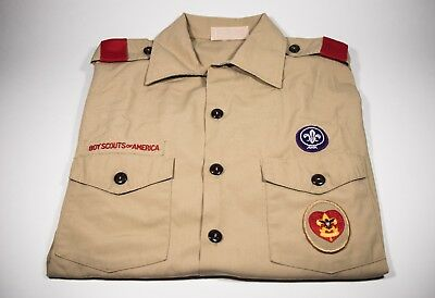 Official Boy Scout Uniform Shirt – Size Adult Medium