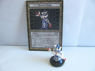 Dungeon Dice Monsters Figure Mighty Mage, Level 4 With Card*rare*exc