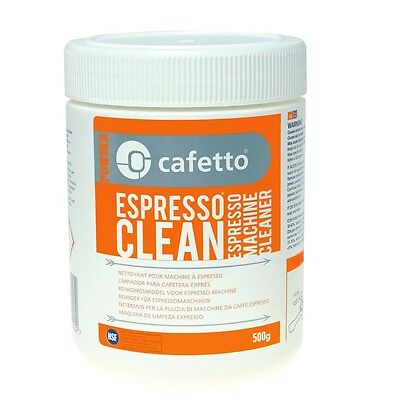 500g Cafetto Powder Espresso Cleaner Machine Professional FREE COFFEE SAMPLE