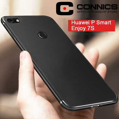 Luxury Ultra Thin Slim Matte Soft TPU Case Cover For Huawei P Smart / Enjoy 7S