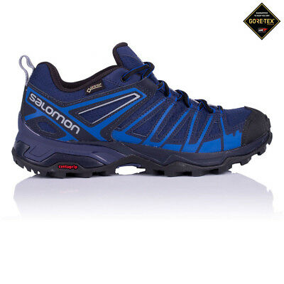 Salomon Mens X Ultra 3 Prime Gore-Tex Walking Shoe Blue Navy Sports Trainers