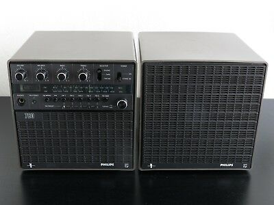 Vintage PHILIPS 'Cube' Stereo Receiver 22AH780 (1978)