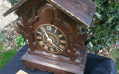 Black Forest Shelf Cuckoo Clock Spares Or Repair
