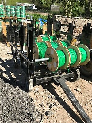 Microduct Black Cable Trolleys x 3 for sale, barely used - FTTH Projects