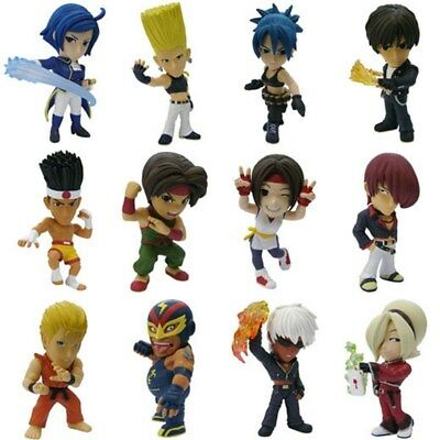 12pcs The King Of Fightres Anime Figure Collectibles KOF Figure PVC Toy
