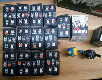 """Kidrobot - 3"""" DUNNY 2TONE SERIES - complete 15 SET + Case excl. and ULTRACHASE +"""
