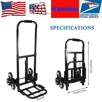 440IBS 6 Wheels Stair Climber Hand Truck Moving Dolly Bracket Roll Cart Trolley