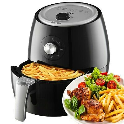 Netta Air Fryer 3.6L Oil Free Healthy Low Fat Multicooker Cook Fry Black T